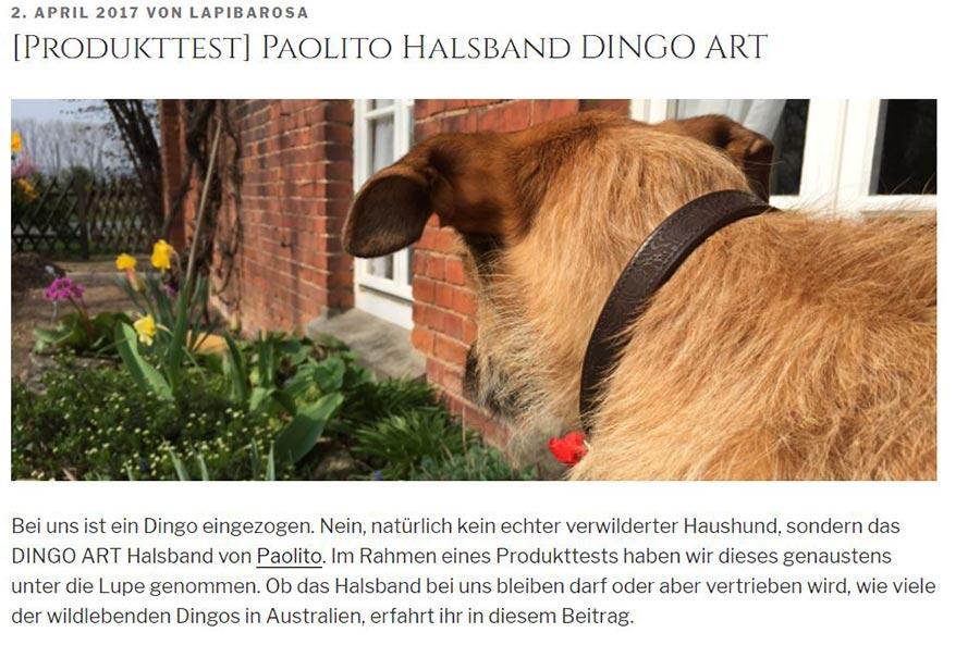 Blogartikel über Paolito auf Lapibarosa.de